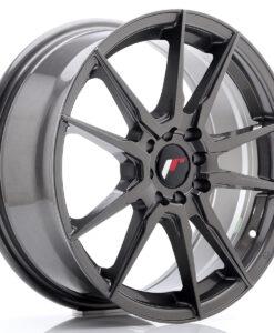 JR Wheels JR21 17x7 ET40 4x100/114 Hyper Gray