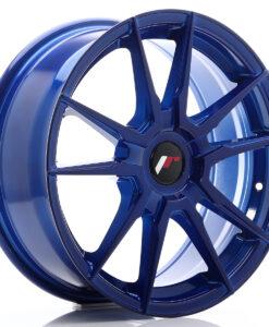 JR Wheels JR21 17x7 ET25-40 BLANK Platinum Blue