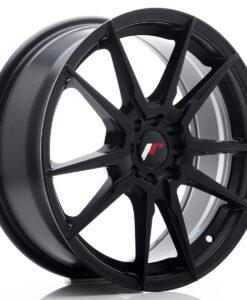 JR Wheels JR21 17x7 ET25 4x100/108 Matt Black