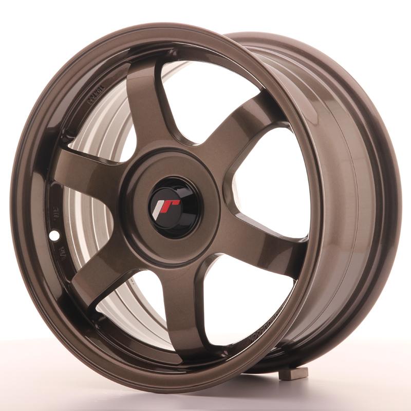 JR Wheels JR3 15x7 ET35-42 BLANK Bronze