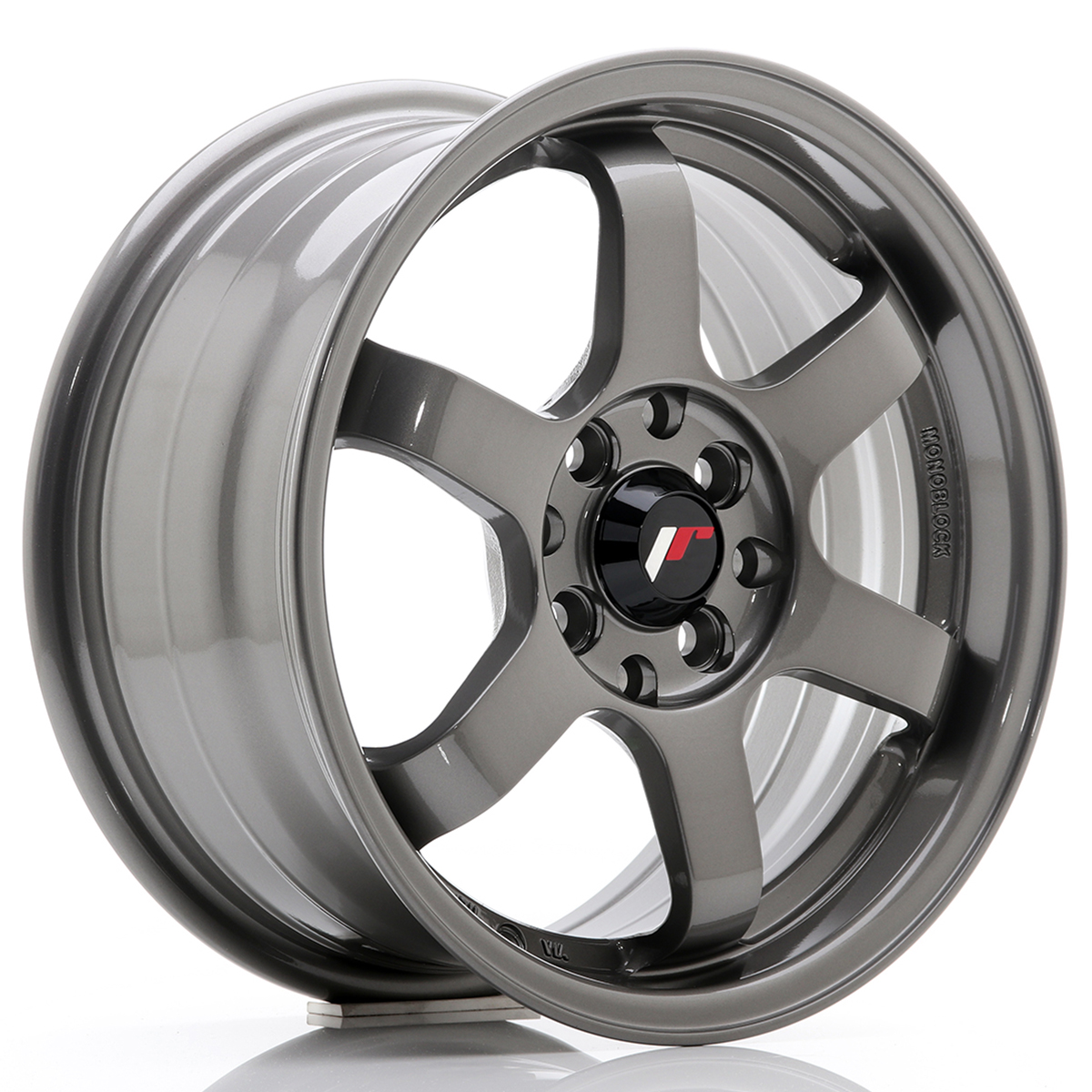 JR Wheels JR3 15x7 ET25 4x100/108 Gun Metal