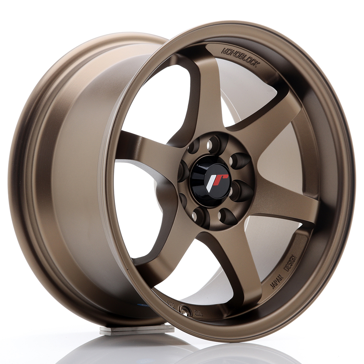 JR Wheels JR3 15x8 ET25 4x100/108 Anodized Bronze