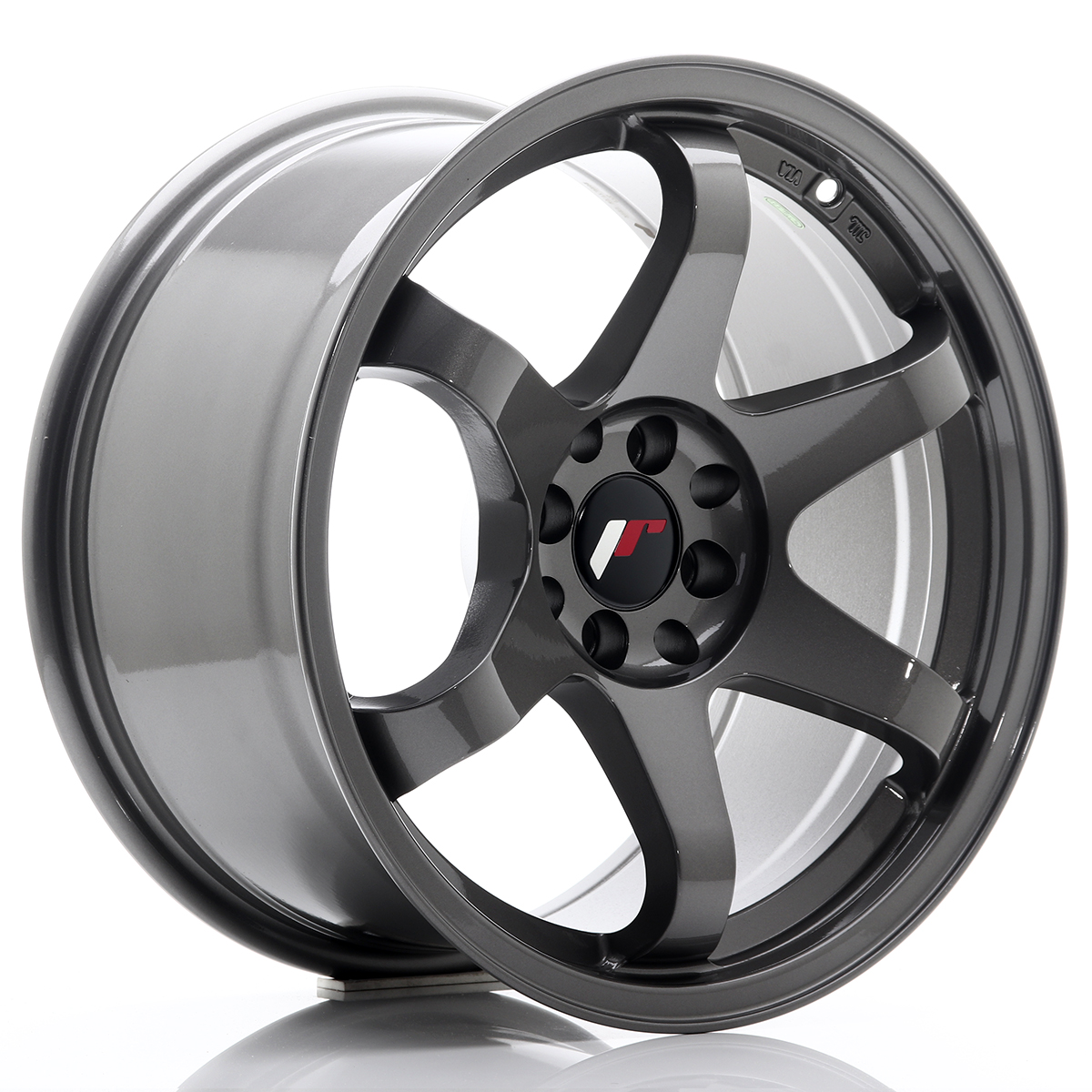 JR Wheels JR3 17x9 ET25 4x108/114, 3 Gun Metal