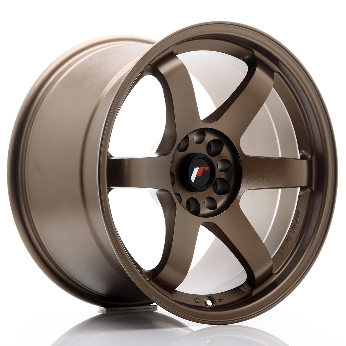 JR Wheels JR3 18x10, 5 ET15 5x114, 3/120 Dark Anodized Bronze