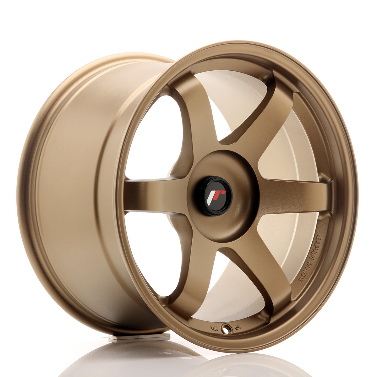 JR Wheels JR3 18x10, 5 ET25-30 BLANK Dark Anodized Bronze