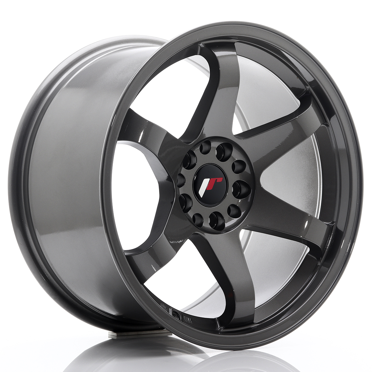 JR Wheels JR3 18x10 ET25 5x114, 3/120 Gun Metal