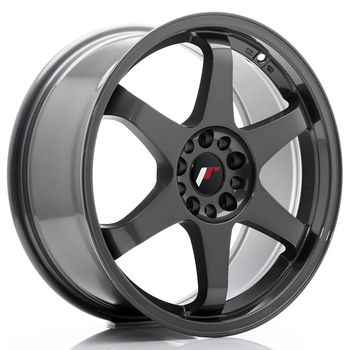 JR Wheels JR3 18x8 ET40 5x100/108 Gun Metal