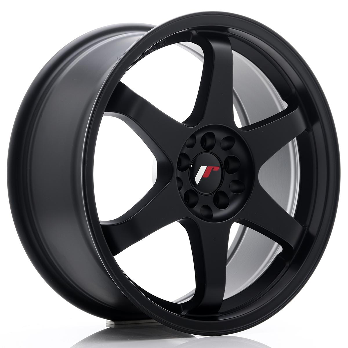 JR Wheels JR3 18x8 ET35 5x100/120 Matt Black