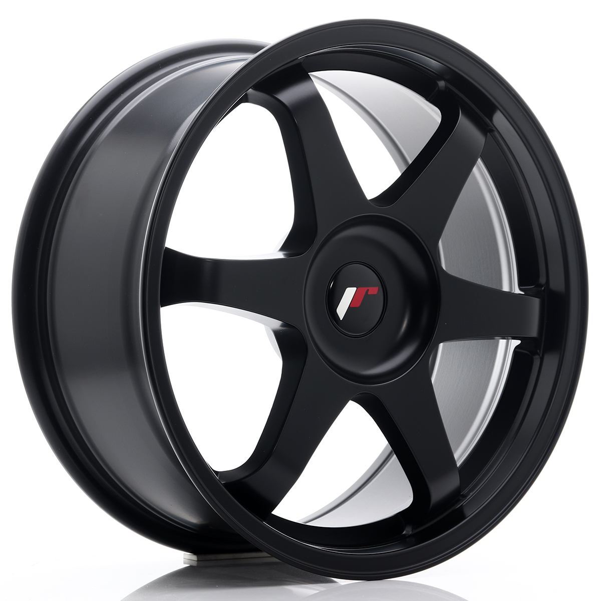 JR Wheels JR3 18x8 ET35-45 BLANK Matt Black