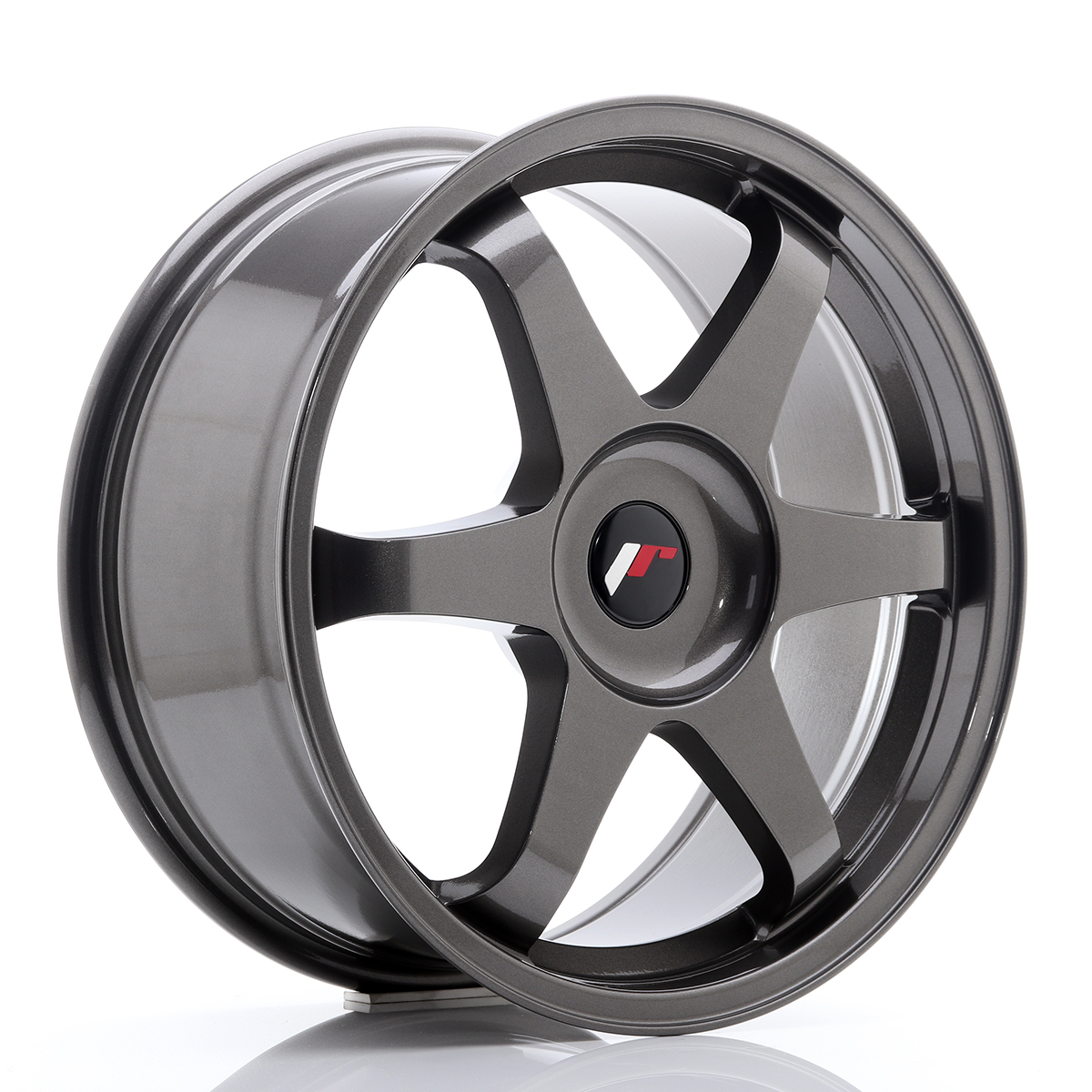 JR Wheels JR3 18x8 ET35-45 BLANK Hyper Gray