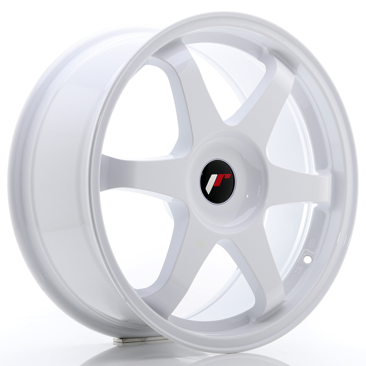 JR Wheels JR3 18x8 ET35-45 BLANK White