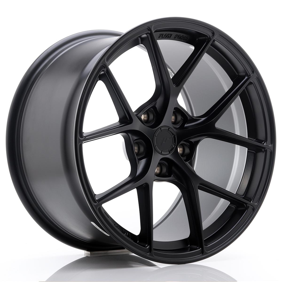 JR Wheels SL01 18x10, 5 ET25 5x114, 3 Matt Black