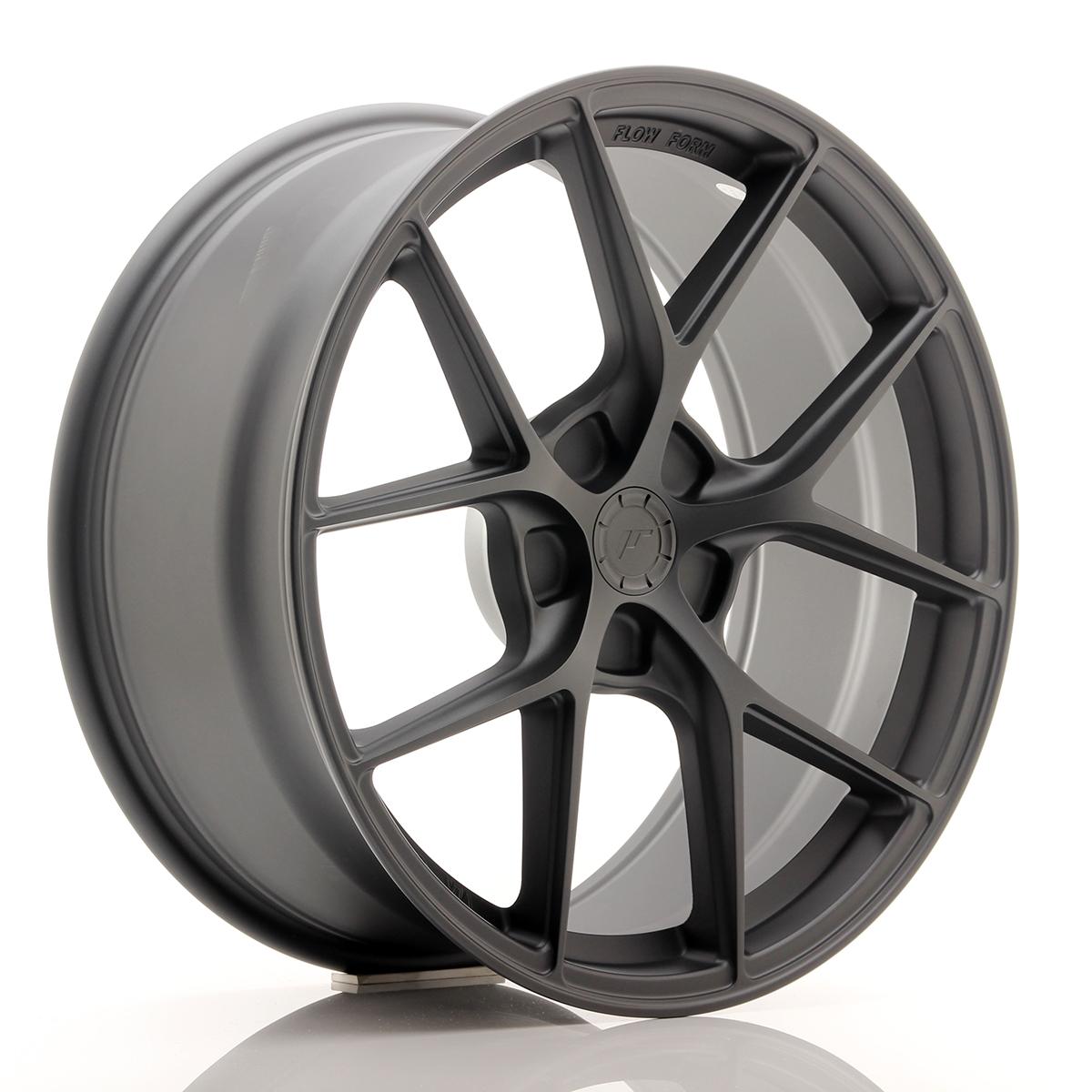 JR Wheels SL01 19x8, 5 ET20-45 5H BLANK Matt Gun Metal