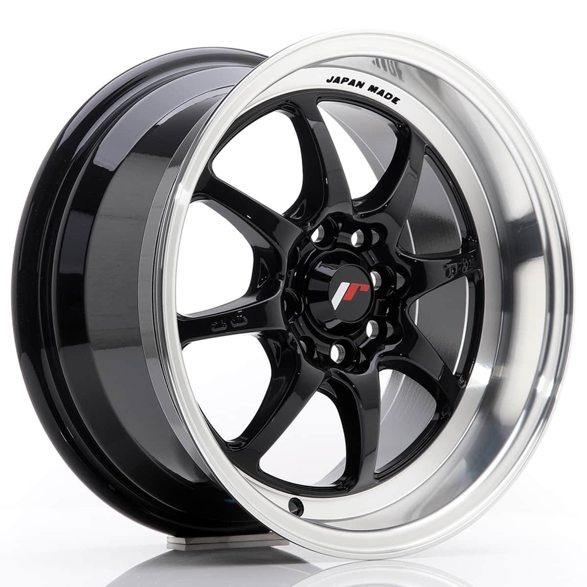 JR Wheels TF2 15x7, 5 ET30 4x100/108 Gloss Black
