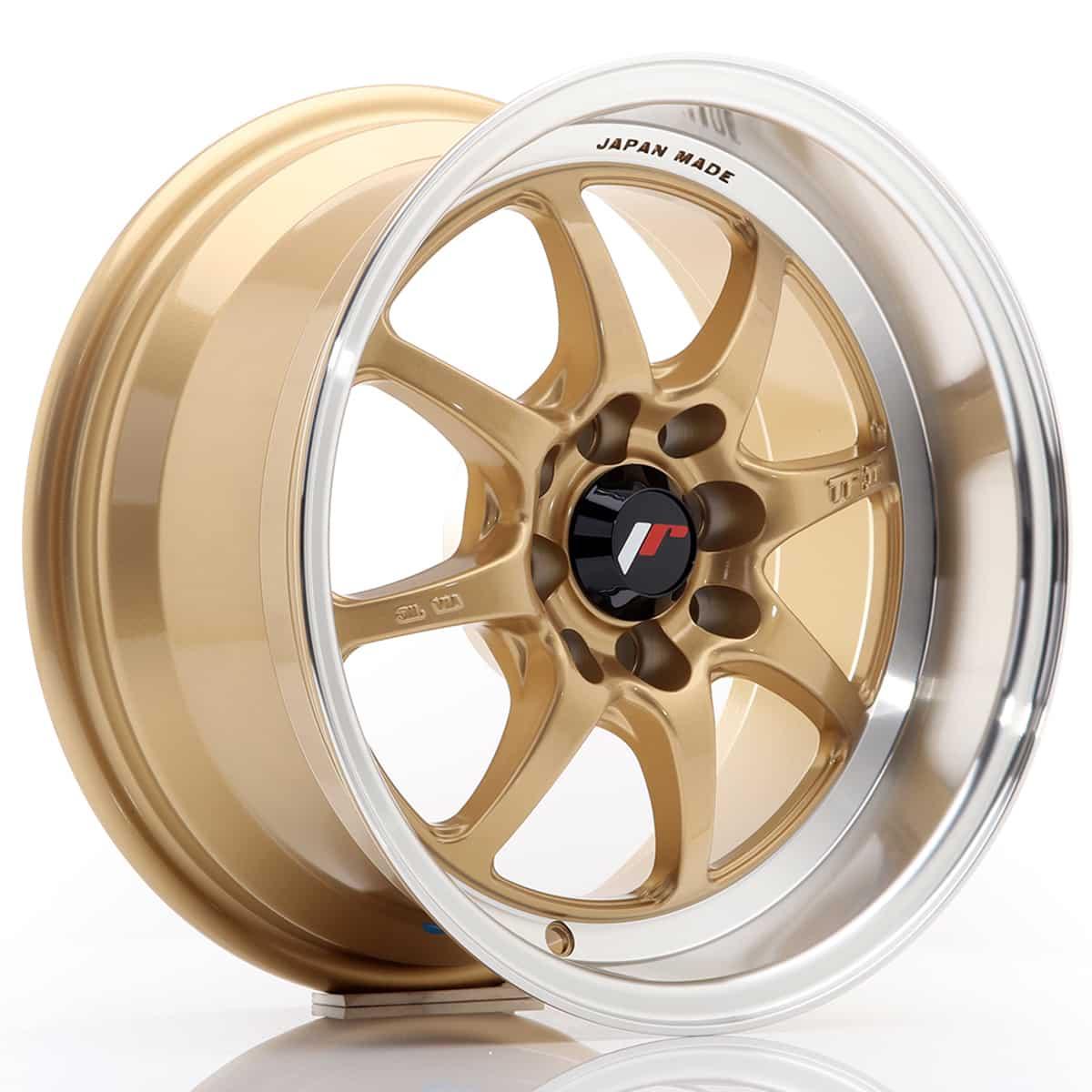 JR Wheels TF2 15x7, 5 ET10 4x100/114 Gold